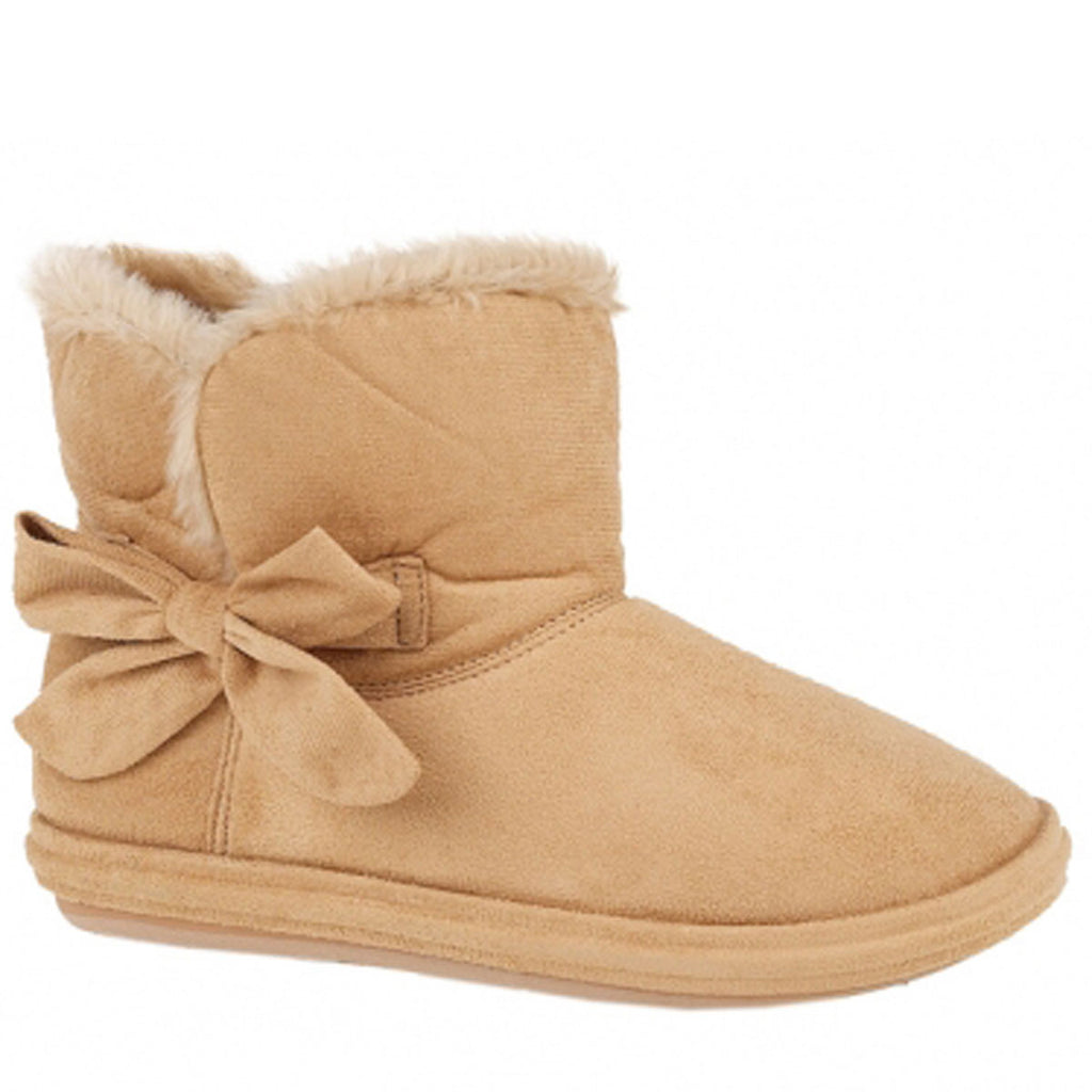 Ladies Slippers Nicolette Bootie, Sand