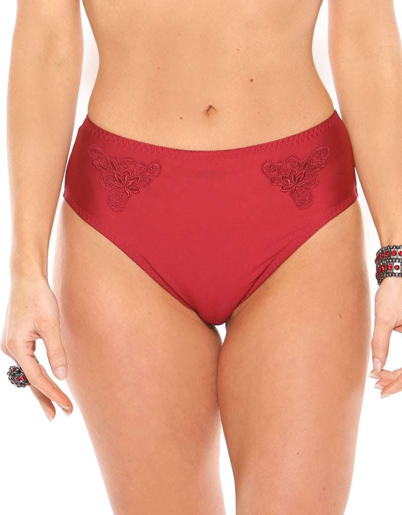 Fit Fully Yours Maxine Panties, Red