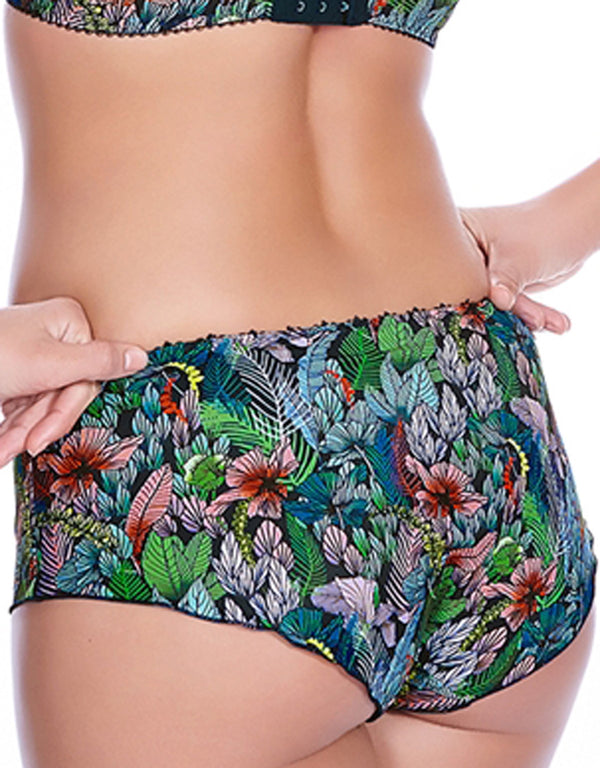 Freya Willow Boyshort Panties, Palm
