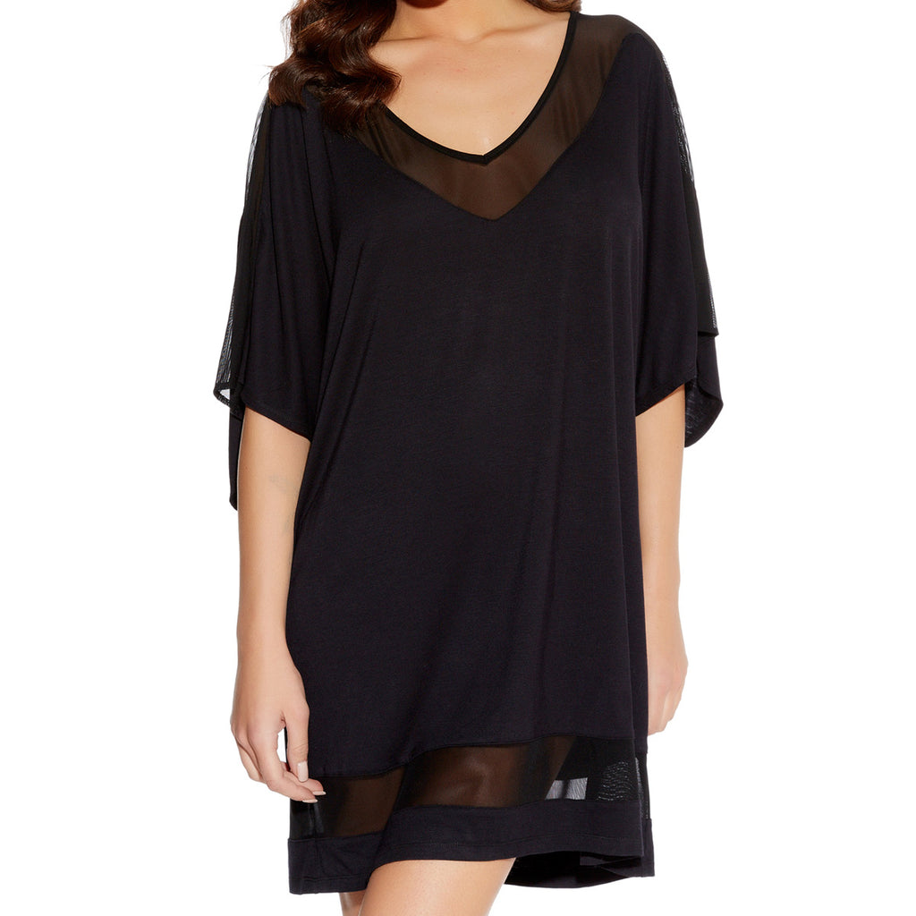 Freya Rock Star Tunic, Black
