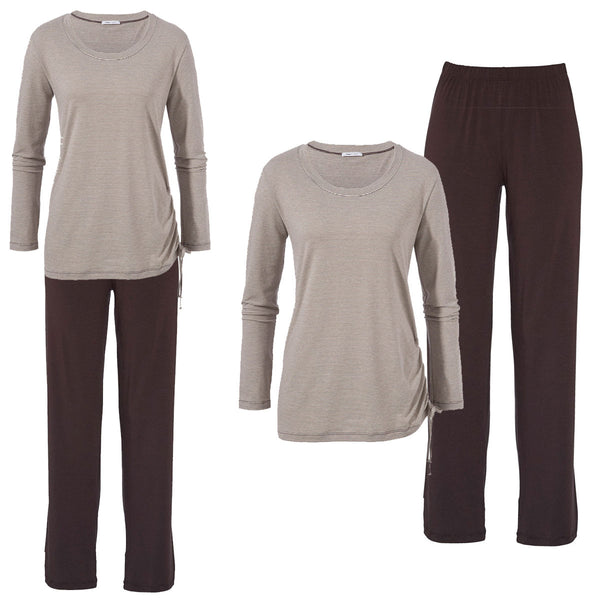 Mey Alexis Lounge Night Wear,  Espresso