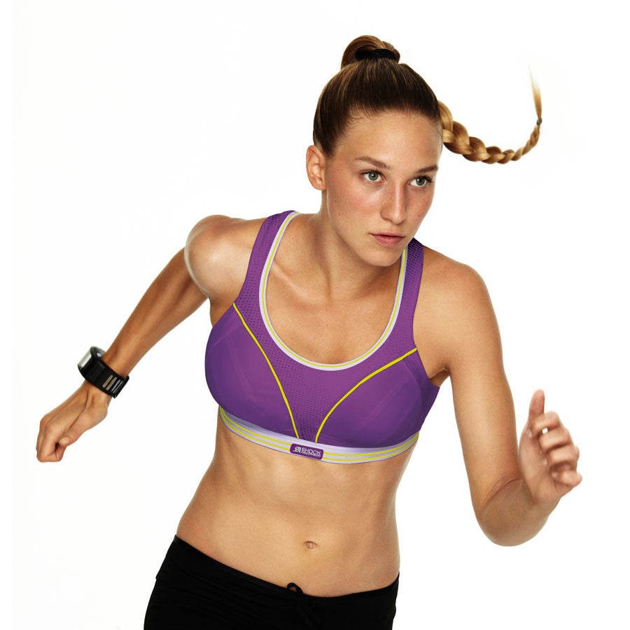 Shock Absorber Ultimate Run Bra, Purple