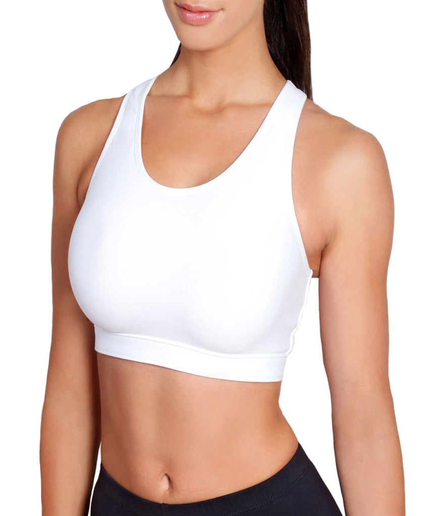 Sportjock Action Sports Bra, White