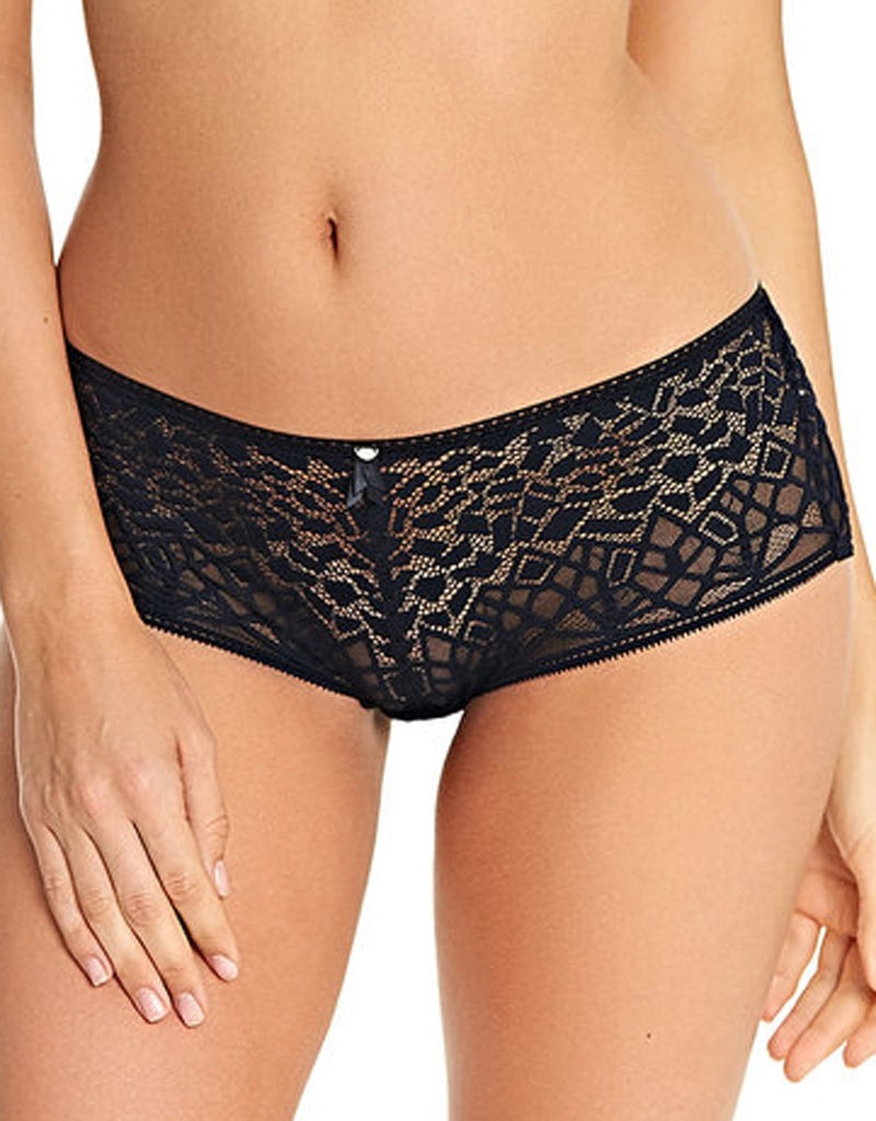 Freya Soiree Lace Short Panty, Black