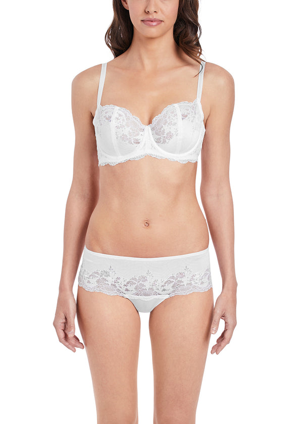 Wacoal Lace Affair Underwire Bra, White