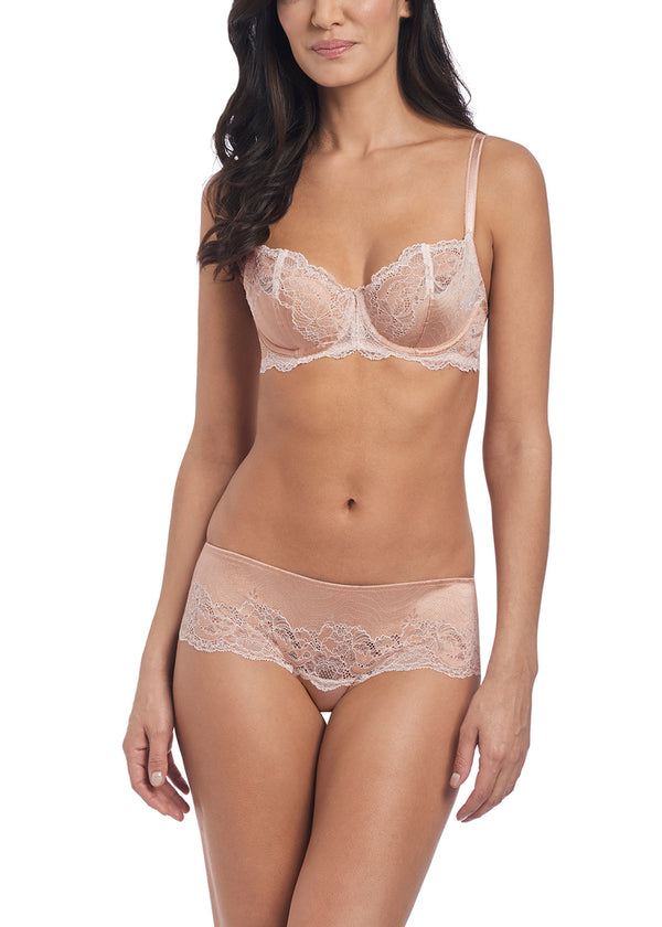 Wacoal Lace Affair Underwire Bra, Dust/Angel Wing