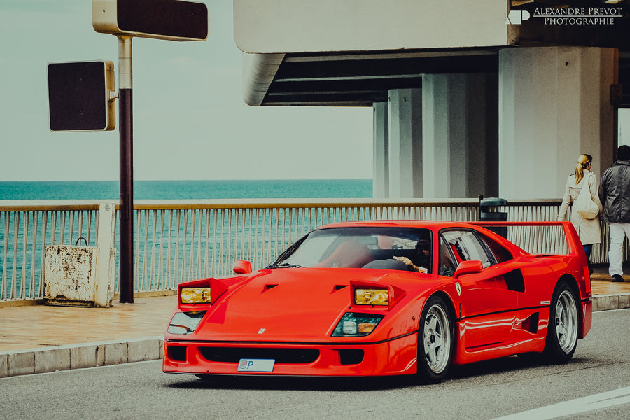 Ferrari F40 — The last real Ferrari