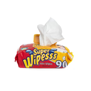 Super Wipesss - Wet Wipes Jumbo Pack 90 Pieces
