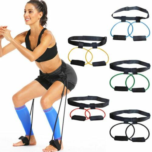 MultiFunction Fitness Resistance Bands for Butt Legs Muscle Training