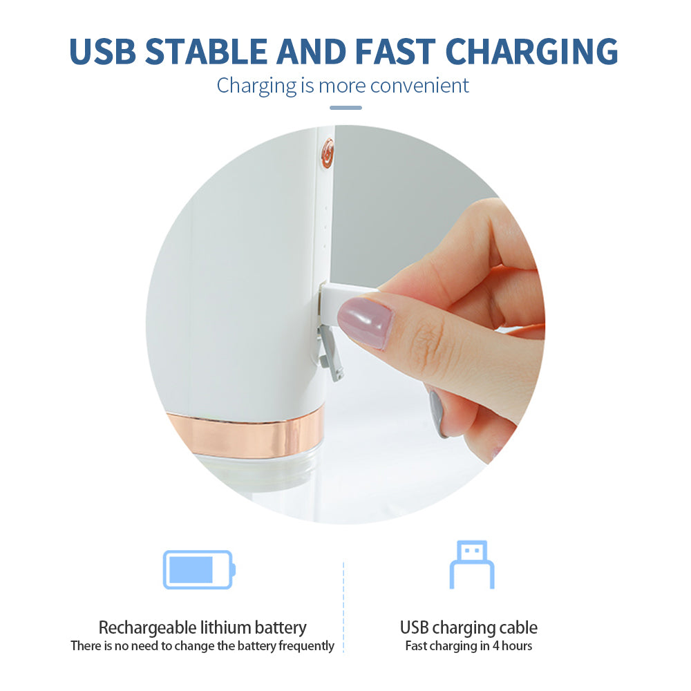 Electric Small Bubble Blackhead Remover USB Rechargeable Water Cycle