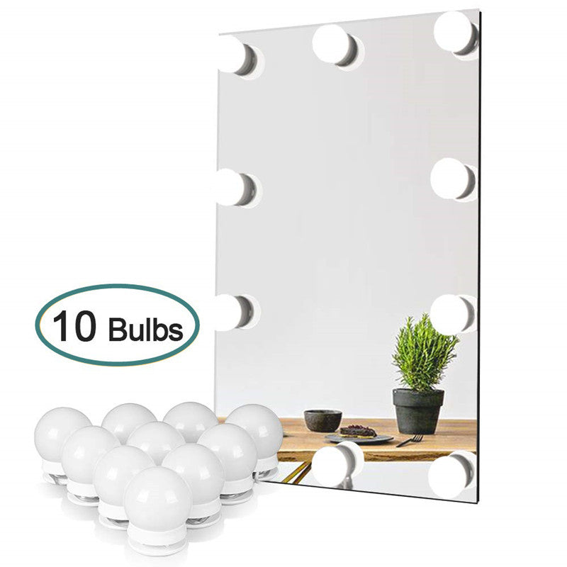 Vanity Mirror LED Lights,10 bulbs.10ft.