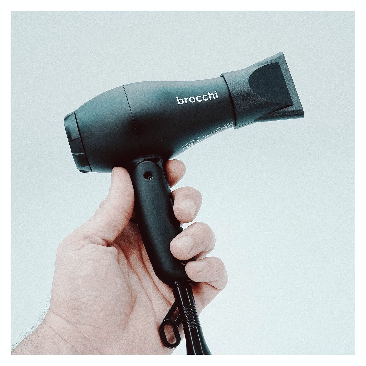 Brocchi Travel-Sized Dual Voltage Hair Dryer