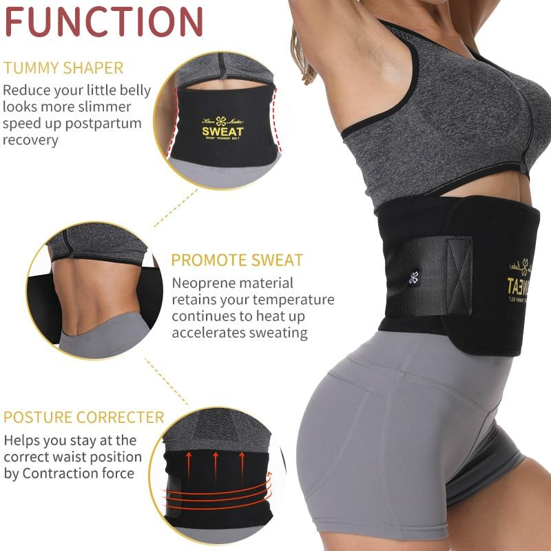 Neoprene Waist Trainer Belt Sweat Waist Trimmer Slimming Corset Xtreme