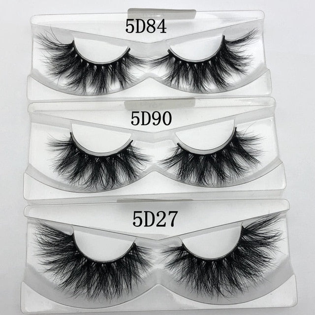 Wholesale  multi styles 30 5D Mink Lashes Handmade