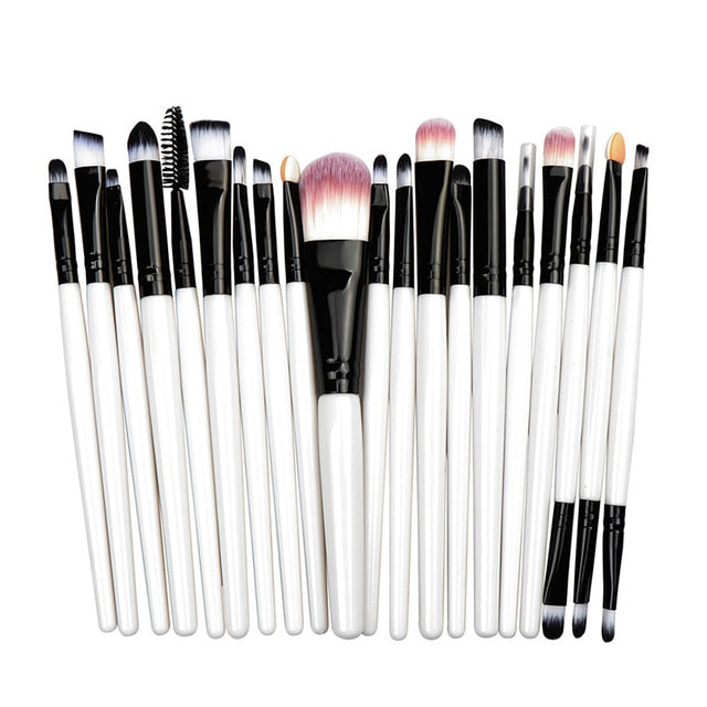 La Milee 20/5Pcs Make Up Brush Cosmetic Beauty Tool Kit Hot