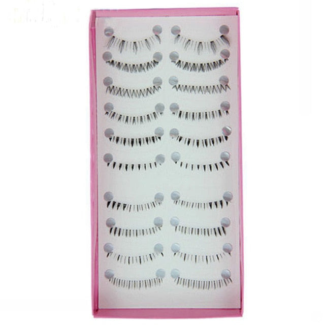 10 Pairs/set Different Styles Lower Eyelash Tools High Quality