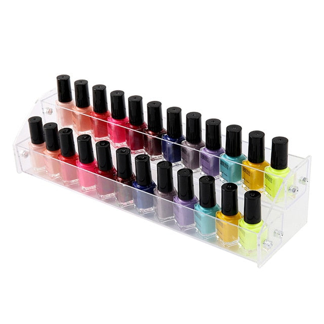 Acrylic Nail Polish Display Organizer 2-3-4-5-6-7 Layer