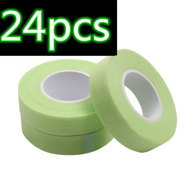 Eyelash Extension Green Tape Sticker  Non-woven Patches Eye Pads Makeup Tool