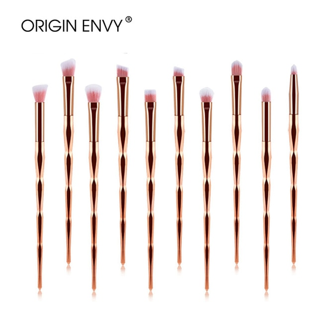 ORIGIN ENVY 20pcs Diamond Makeup Brushes Eyeshadow Contour Beauty