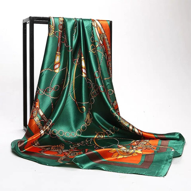 Silk Scarves Women 90*90cm