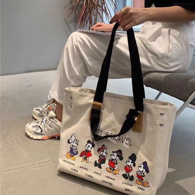 Mickey mouse travel bag