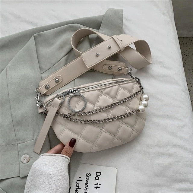Pearl Design Summer Fanny Pack Bags