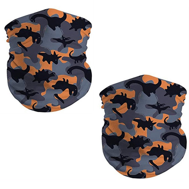 2pc Kids Splash-proof Face Cover