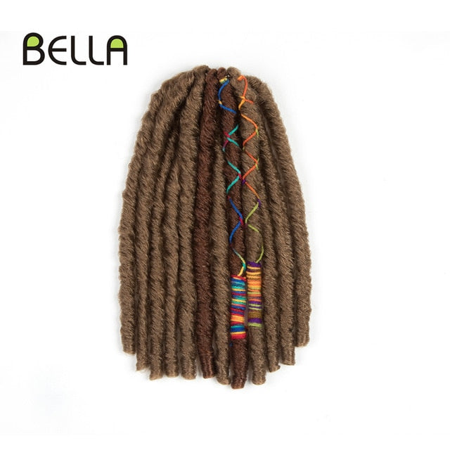 Bella Dreadlocks Faux Locs 12 Strands Crochet Hair 12-26 inch
