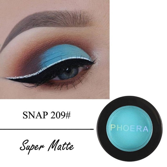 PHOERA Matte Eye Shadow Beauty Makeup Cosmetics TSLM2