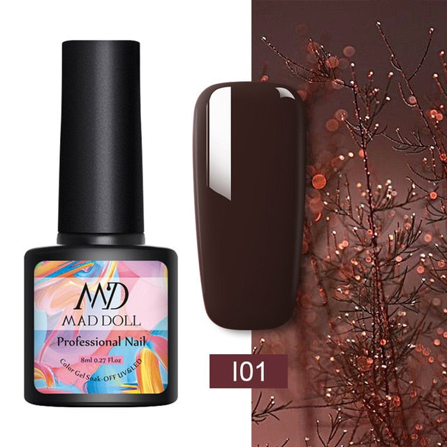 MAD DOLL 8ml UV Gel DIY Nail Art varnish