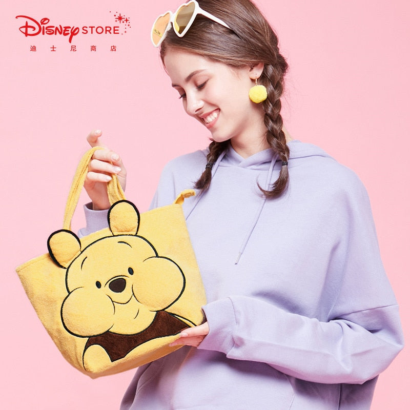 Disney Cartoon Cute Bee Pooh Handbag Winnie the Pooh Cartoon Tote Bag
