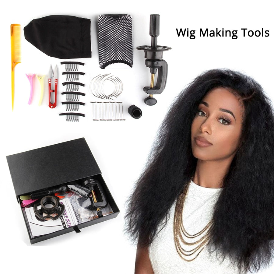 Wig Kit For Making Human Hair Wigs