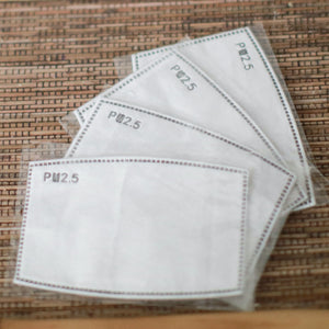 Reusable Face Mask Filters (Adults and Children)