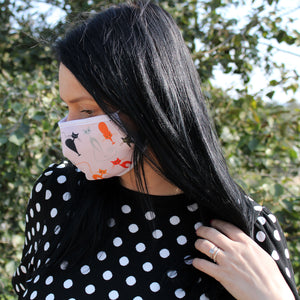 Pink Cats - Reusable Face Mask (Adults)