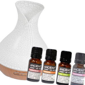 Aroma Diffuser and Essential Oil Blends Missy Moo Giftset Ireland