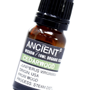 Cedarwood Organic Essential Oil 10ml