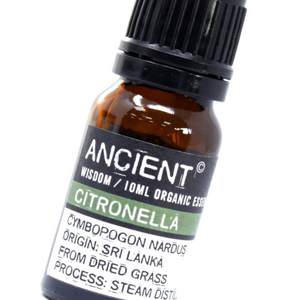 Citronella Organic Essential Oil 10ml