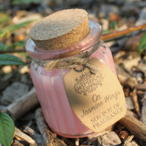 Jasmine Wings Soy Glass Jar Candles Missy Moo