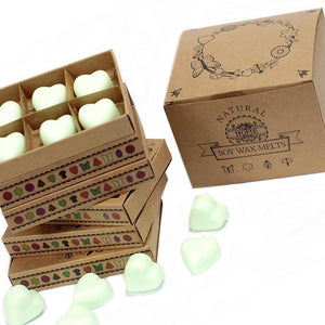 Mint and Menthol - Box of 6 Wax Melts