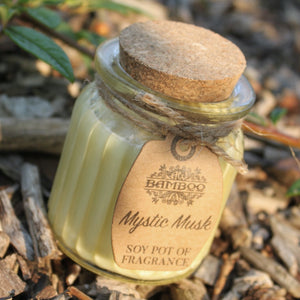 Mystic Musk Soy Glass Jar Candles Missy Moo
