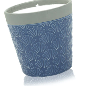 Blue Day Soy Ceramic Candle Missy Moo