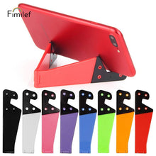 Load image into Gallery viewer, Folding Phone/ Tablet Stand Pocket Sized - Peach