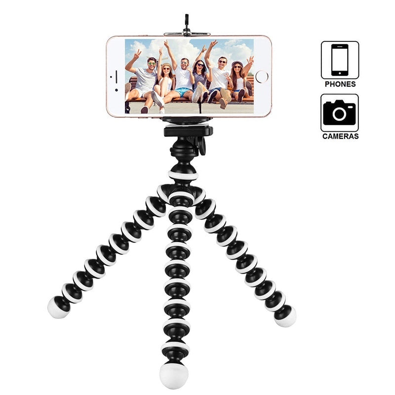 Tripod Holder for Phones Black