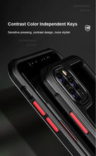 Load image into Gallery viewer, iPhone 11 Pro Max Case - Rugged Bumper Case - Black w/ Red Button