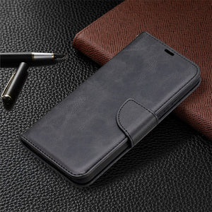 iPhone XR Case - Wallet - Black