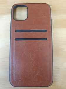 iPhone 11 Pro Case - Back Card Slot - Brown