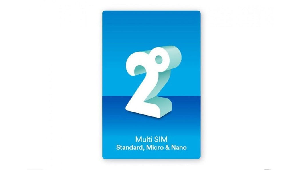 2 Degrees Multi 3-in-1 SIM