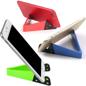 Folding Phone/ Tablet Stand Pocket Sized - Peach