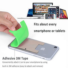 Load image into Gallery viewer, Silicone Card Pocket Storage for Mobile Phone - Grey