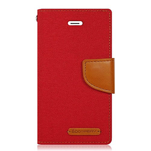 iPhone 7 Plus/ 8 Plus Case - Wallet - Red Denim